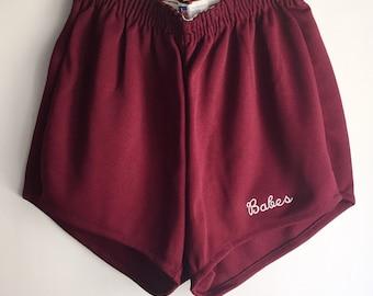Legit Babes Custom Russell Short Shorts Size Medium