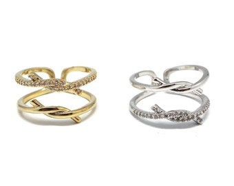 264 Double Knot Ring