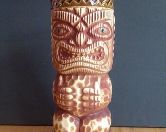 vintage ceramic tiki cup Japan