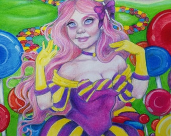 Princess Lolly in Lollipop Woods: Candyland