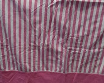 Full Flat Pink Stripes All Cotton
