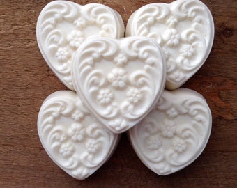 Oatmeal Lavender Soap - Heartshaped Soap Handmade Soap - Wholesale Lavender Soap