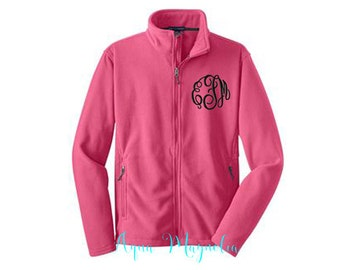 Youth Fleece Jacket - Monogrammed