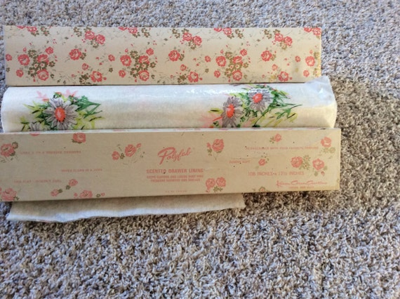 Vintage Scented Drawer Lining Paper 28 Images Scented