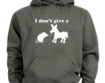 I don't give a rat's ass hoodie funny sweatshirt