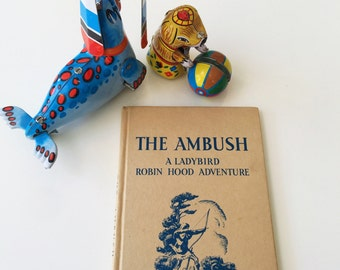 REDUCED The Ambush Vintage Ladybird Book Robin Hood Series 549 Circa 1960