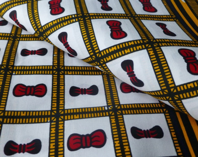 African Fabrics Super Wax Print Fabrics For Sewing, Fabrics For Dress Making Kitenge/Pagnes/Ankara /ChitengeSold By  FAT QUARTER