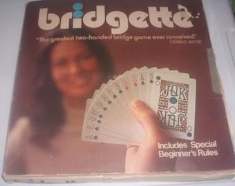 Vintage Bridgette Card Game