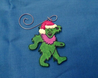 Grateful Dead Bear Ornament