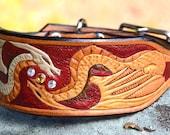 Custom Dragon Collar for John