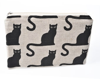 Linen cats Kindle sleeve, iPad mini sleeve, Kindle Paperwhite sleeve, Kindle Fire case, Kobo case, Nexus 7 sleeve, ipad sleeve, Nook case