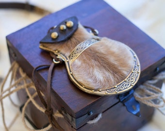 Viking Purse; Leather Purse; Pouch; Viking Bag; Pocket