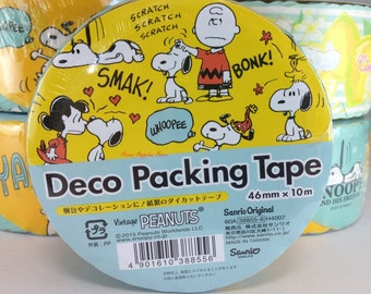 BIG Snoopy Die Cut Deco Packing Tape (388556)  Buy other items together for BETTER price.