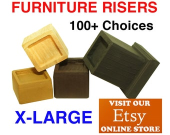 X-LARGE Furniture Risers, Bed Lifters