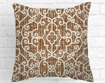 Brown Pillow Covers,  Caramel Pillow Covers , Decorative Pillows,  Accent Pillows ,Throw Pillows ,