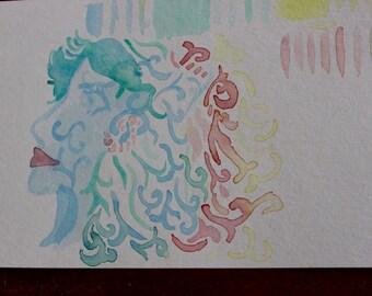 Watercolour Tries