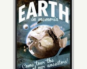 20% OFF Earth, Visit the Home of our Ancestors Space Poster