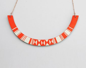 HALO Necklace Tangerine