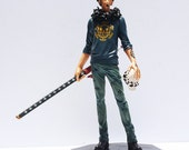 1pcs 28cm Cartoon One Piece Trafalgar Law After 2 Years PVC Action Figure Toy Collective Doll With Box