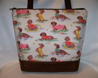 New Dachshund Purse - Handbag - Bag Perfect for Spring and Summer! Made To Order