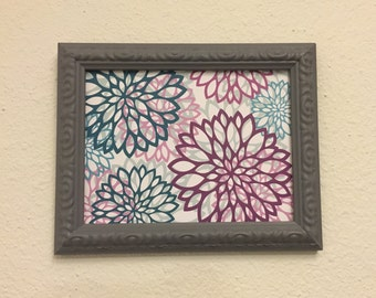 6x8 Grey Upcycled Handpainted Wall Picture Frame