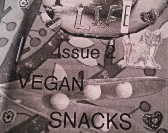 Veganise Your Life zine issue 2: vegan snacks
