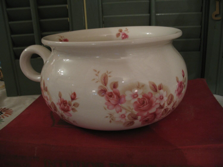 Pot de chambre england vintage arthur wood - Pot de chambre antique ...
