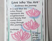 Embrace  the Journey - Encouragement