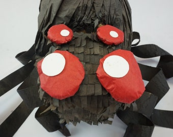 Black Widow Spider Pinata With Wiggly Legs   Bug Party Game   Party Decor   Fun Pinata Game   Spider Birthday Gift   Cool Bug Party Idea