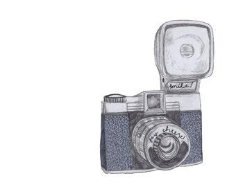 Postcard: Diana Camera