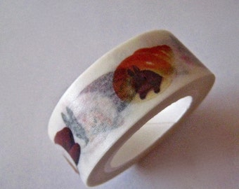 """Sale Washi Tape  """"Bunny Roll"""" 15mm x 10 meters"""