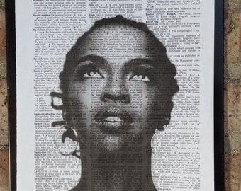 Lauryn Hill Dictionary Print #2