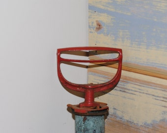 Antique Salvaged Metal Spray Pump