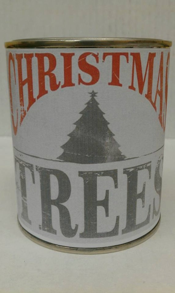 CHRISTMAS TREES - Genuine Pine Wood Wick Candle - 16 oz. Free Shipping USA