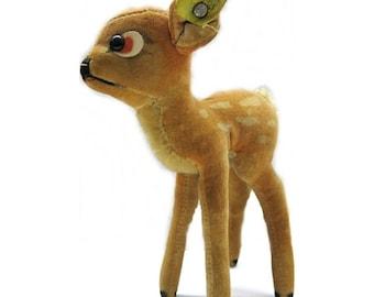 Vintage Steiff Bambi Reh - Cop. Walt Disney | 1950s / 1960s