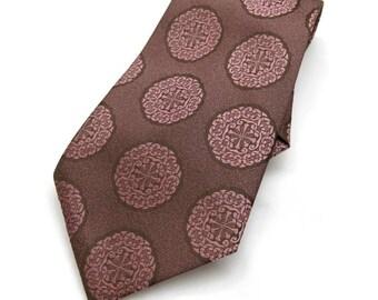 vintage tie - trevira germany - 60s fashion men
