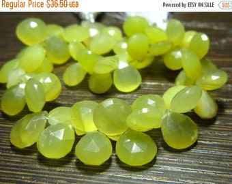 "MEGA SALE Peruvian Honey Opal Faceted Heart Briolette- 7"" Strand -Stones measure- 7-9mm"