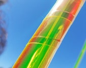 Color Shifting Wrapped Hula Hoop Polypro HDPE Firefly By TheHoopSmiths