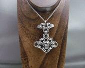 Mjölnir Thor's Hammer Chainmail Pendant