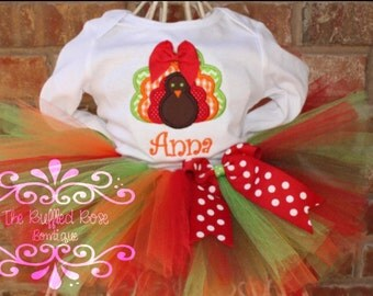 Turkey TUTU set!!