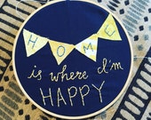 RESERVED FOR MELISSA- Home Hand Embroidery