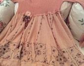 Blush  Fairytale Dress Romantic Mori Girl Enchanting Reserved for Lala~