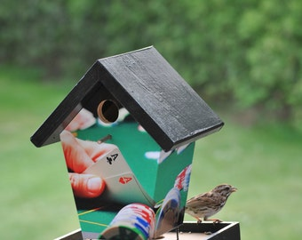 Poker Game Bird Feeder