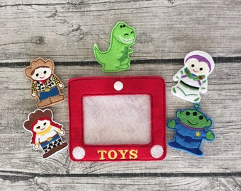 Toy Story Inspired Finger Puppets
