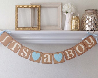 It's a boy Banner, baby shower banner
