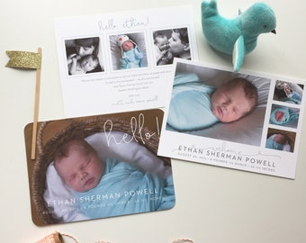 Hello and Welcome! Baby Annoucement