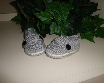 SALE Infant, Baby Loafers, Booties, size 0-6 months, Ready to Ship.