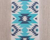 Native Pattern Pendelton Inspired- Letterpress Notebook Handmade in Seattle