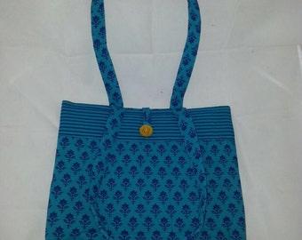 Hand Block Printed Fabric Bag MF503