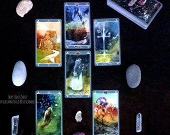Deity Dossier Mini - Detailed information about a spirit, ghost, or deity. Intuitive psychic tarot oracle card divination reading